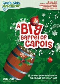 A Big Barrel Of Carols (DATA DVD)