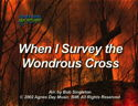 When I Survey The Wondrous Cross by God's Kids Worship Band