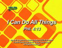 I Can Do All Things (Phil. 4:13) by God's Kids Worship Band