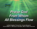 Praise God From Whom All Blessings Flow (Doxology) by God's Kids Worship Band