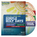 Simple Holy Days - a Simple Worship DVD collection + .mov files