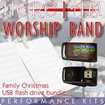 Here I Am Worship Band - Family Christmas Collection