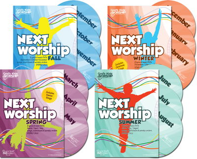 God's Kids Worship NEXT Worship DVDs Year-Round Edition