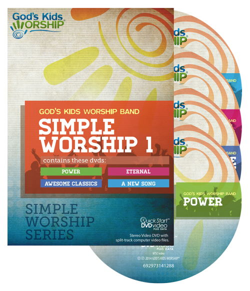 Simple Worship 1 - a Simple Worship DVD collection + .mov files
