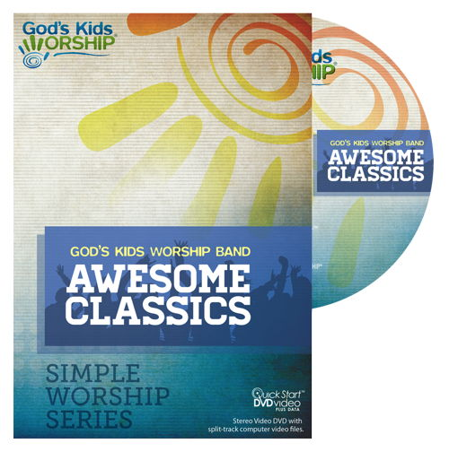 Awesome Classics - Simple Worship Series DVD + .mov files
