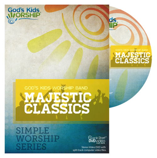 Majestic Classics - Simple Worship Series DVD + .mov files