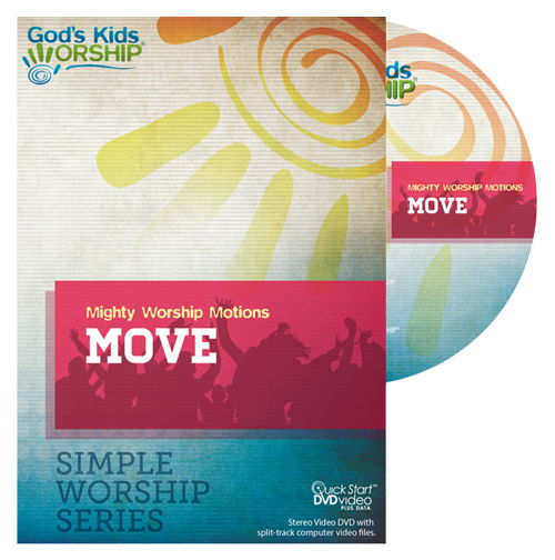 Move - Simple Worship Series Worship Motions DVD + .mov files