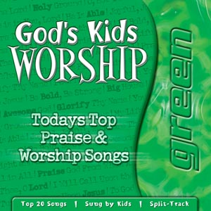 God's Kids Worship Classic Green CD