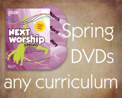 Spring Worship DVDs for any curriculum - includes Easter
