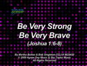 Be Very Strong Be Very Brave (Joshua 1:6-8) by God's Kids Worship Band