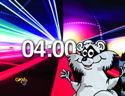 Fun Racoon With Color Tunnel Graphics (high energy countdown) file download