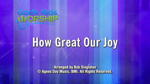 How Great Our Joy - 3 Wide Screen Videos - God's Kids Worship Band