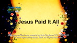 Jesus Paid It All by God's Kids Worship Band