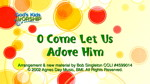 O Come Let Us Adore Him by God's Kids Worship Band