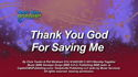 Thank You God For Saving Me by God's Kids Worship Band