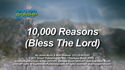 10,000 Reasons (Bless The Lord) by God's Kids Worship Band