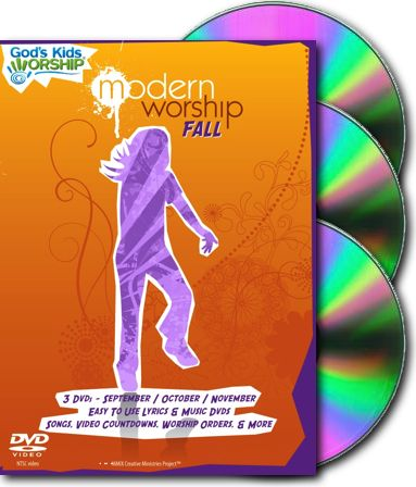 God's Kids Worship Modern DVD Fall Quarter (Sept-Nov)