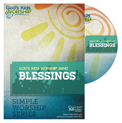 Blessings- Simple Worship Series DVD + .mov files