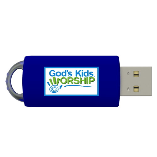 A New Song - God's Kids Worship Band USB Drive 12 Song Collection